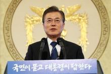 北朝鮮「レッドライン近づく」=戦争回避に自信も-韓国大統領