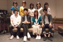 好評配信中のアニメ「カラダ探し」から、阿澄佳奈・江口拓也対談と主演声優のコメントが到着!
