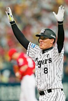 阪神がサヨナラ勝ち==プロ野球