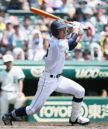 三本松、好機生かす=高校野球・三本松-二松学舎大付