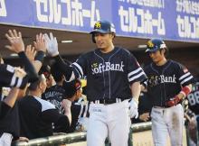 ソフトバンク快勝=プロ野球・楽天-ソフトバンク