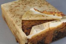 106年前のフルーツケーキ、発見される…食べても大丈夫