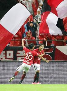 浦和の興梠が2得点=Jリーグ・浦和-F東京