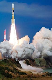 日本版GPS衛星、宇宙へ