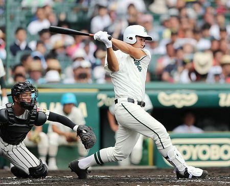 二松学舎大付、19安打で圧倒=高校野球・明桜-二松学舎大付
