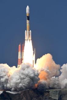 みちびき3号、打ち上げ成功=日本版GPS衛星-鹿児島