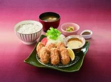 大好評!大戸屋の「広島産かきフライ定食」が今年も登場
