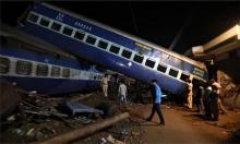 列車脱線、23人死亡=印