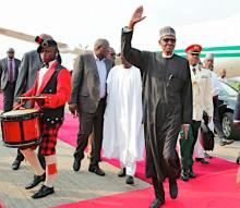 ナイジェリア大統領帰国