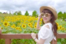 【HC♡girls レポ】ひまわり畑にテンションUP♡夏の思い出づくりは『ハーベストの丘』で