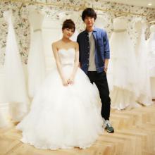 川口春奈『愛してたって、秘密はある。』でウエディングドレス披露 独占ショット公開