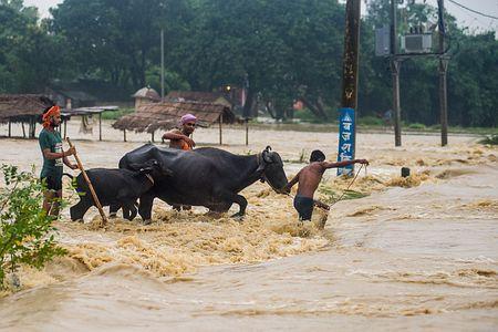 洪水と地滑りで58人死亡=雨期の豪雨、全土で被害-ネパール