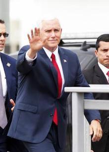 米副大統領、中南米歴訪で「釈明行脚」=ベネズエラ問題、懸念打ち消し