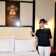 香港ディズニーランド・リゾートの新ホテルをリポート--客室は遊び心満点!