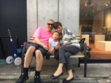 モデル今宿麻美、第2子妊娠<家族3ショット&コメント到着>
