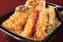 カ、カニカマの天ぷら?―ふしぎな天丼がほっともっとから