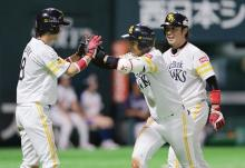 ソフトバンク6連勝=プロ野球・ソフトバンク-西武