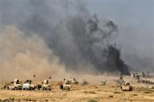 3万人取り残される=イラク北部の要衝