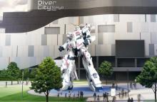 東京・お台場に「実物大ユニコーンガンダム立像」9・24展示開始