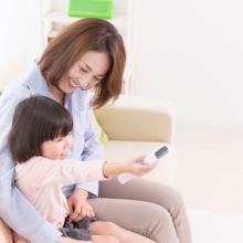 子どもにテレビを見せるのは1日何時間?--33%のママが実践している時間は…