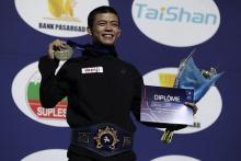 文田が初優勝=グレコ日本勢34年ぶり-世界レスリング