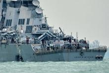 国防予算削減が影響か=任務増加も艦船・訓練不足-事故相次ぐ米海軍