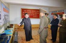 """新型SLBM、開発推進か=<span class=""""hlword1"""">北朝鮮</span>、「北極星3」の図を公開"""