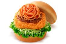 モス、カツ丼ならぬカツバーガーを多数発売―「トルコライス風」などご当地味