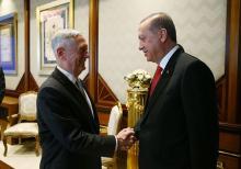 シリアのクルド組織支援に懸念=米長官に伝える-トルコ大統領