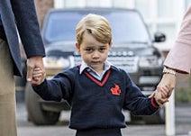 ジョージ王子の学校、警備見直し