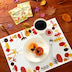 カルディから、秋らしさの詰まった「ランチョンマット&ドリップコーヒーセット」が数量限定発売!