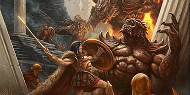 卓上でスパルタ人と巨人を戦わせよう! ギリシャ神話 ...